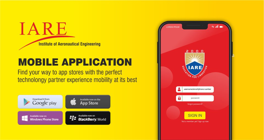 IARE Mobile Applications